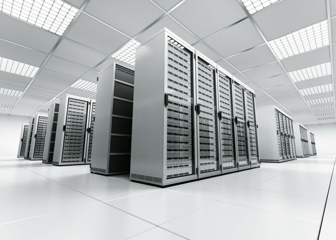 Dedicated server sfeerafbeelding